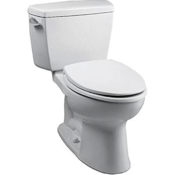 Toto Cst744s01 Drake Toilet Cotton White Elongated Bow Comfort Height